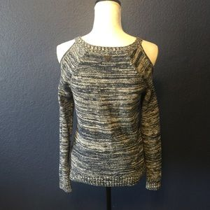 Guess Sweaters - GUESS Cold Shoulder Chunky Sweater